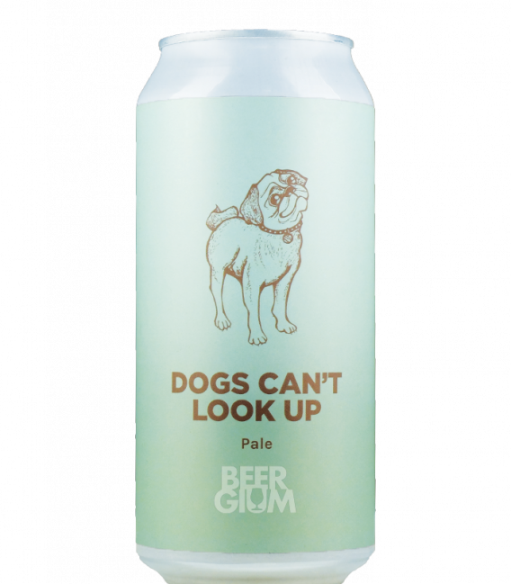 Pomona Island Dogs Can't Look Up CANS 44cl