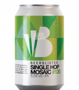 Beerbliotek IPA Single Hop Mosaic CANS 33cl