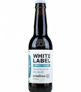Emelisse 2019.003 White Label Imperial Russian Stout Belize Rum BA 33cl