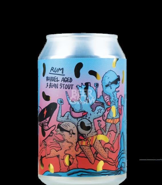 Lervig BA 3 Bean Stout Rum 2020 CANS 33cl