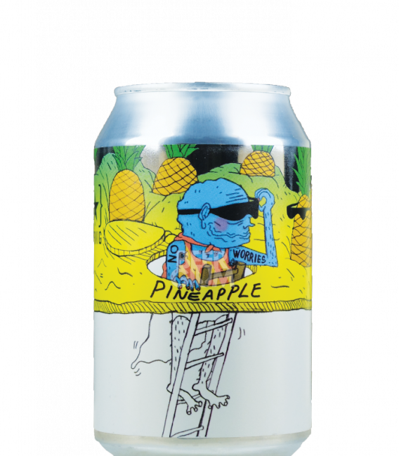 Lervig No Worries Pineapple CANS 33cl