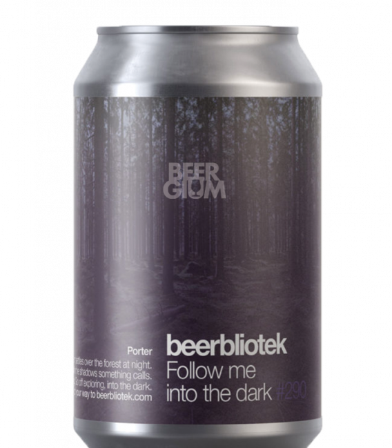 BeerBliotek Follow me into the Dark CANS 33cl