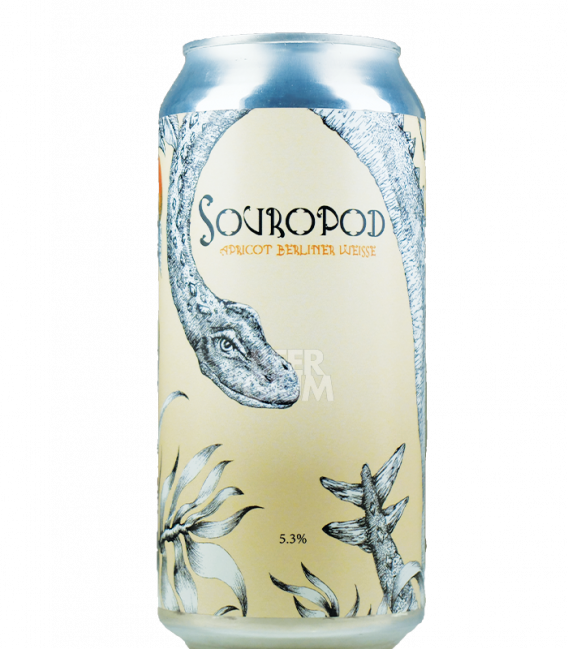 Staggeringly Good Souropod Apricot Berliner Weisse CANS 44cl