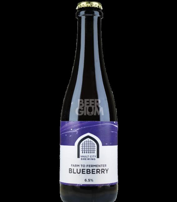 Vault City Farm to Fermenter Blueberry 37cl