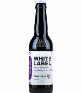 Emelisse White Label 2018.005 Imperial Russian Stout Islay Whisky BA Peated 33cl