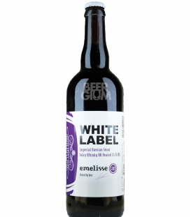 Emelisse White Label 2018.005 Imperial Russian Stout Islay Whisky BA Peated 75cl