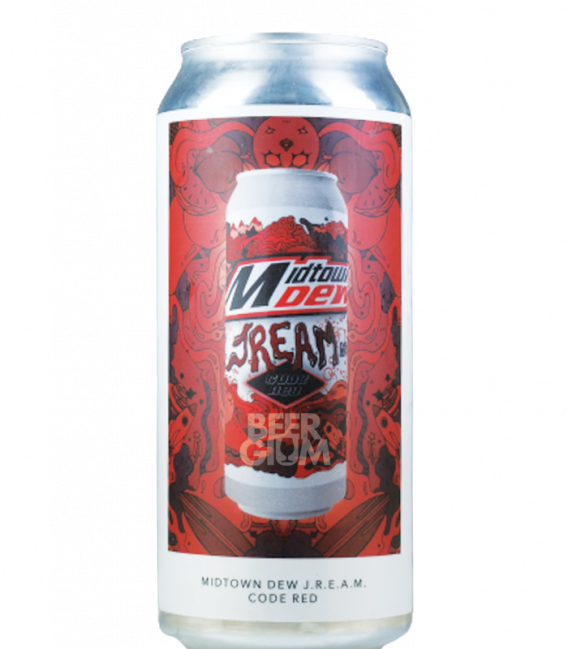 Evil Twin NYC Midtown Dew JREAM Code Red CANS 47cl