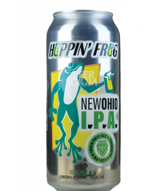 Hoppin' Frog New Ohio IPA CANS 47cl