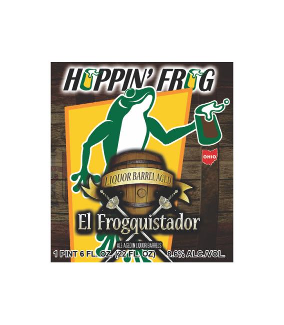 Hoppin' Frog Liquor Barrel Aged El Frogquistador 65cl