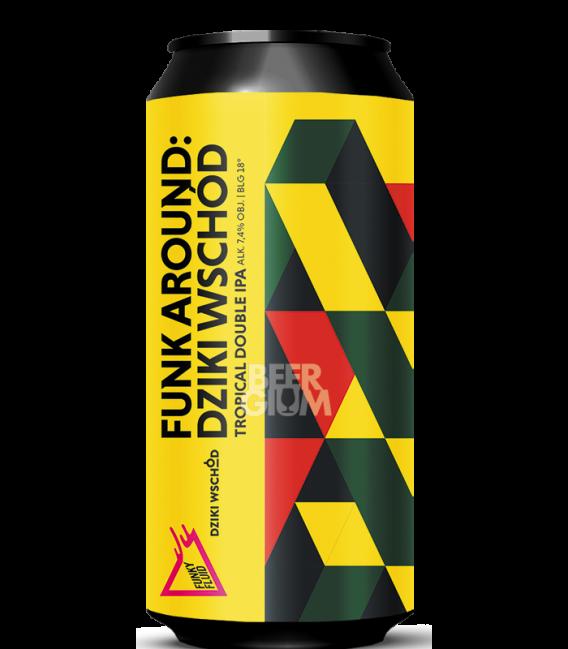 Funky Fluid Funk Around: Dziki Wschod CANS 50cl