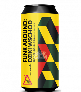 Funky Fluid Funk Around: Dziki Wschod CANS 50cl
