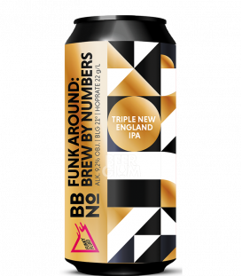 Funky Fluid Funk Around: Brew By Numbers CANS 50cl