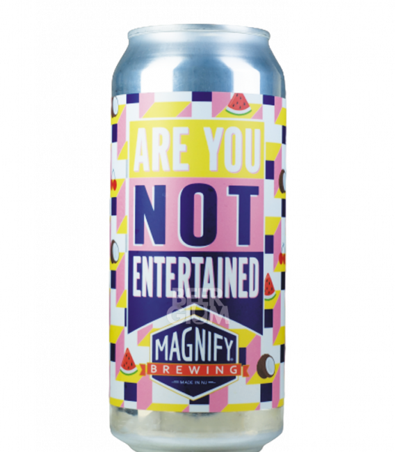 Magnify Are You not Entertained CANS 47cl