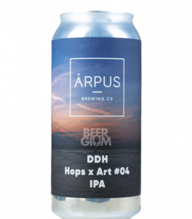 Arpus Brewing DDH Hops x Art 04 IPA CANS 44cl