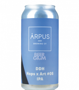 Arpus Brewing DDH Hops x Art 05 IPA CANS 44cl