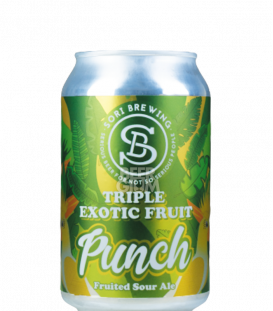 Sori Triple Exotic Fruit Punch Passion Mango Guava CANS 33cl