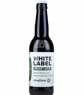 Emelisse White Label 2020.005 Imperial Russian Stout Heavy Peated Islay Whisky BA 2020  33cl