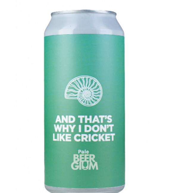 Pomona Island And That's Why I don't Like Cricket CANS 44cl