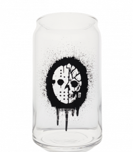 Sudden Death Spray Skull Can Glass 47cl