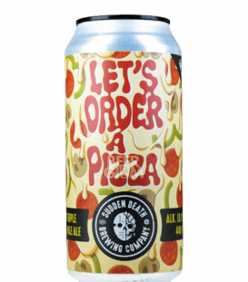 Sudden Death Let's Order a Pizza CANS 44cl