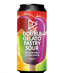 Funky Fluid Double Gelato: Pink Guava & Passion Fruit CANS 50cl
