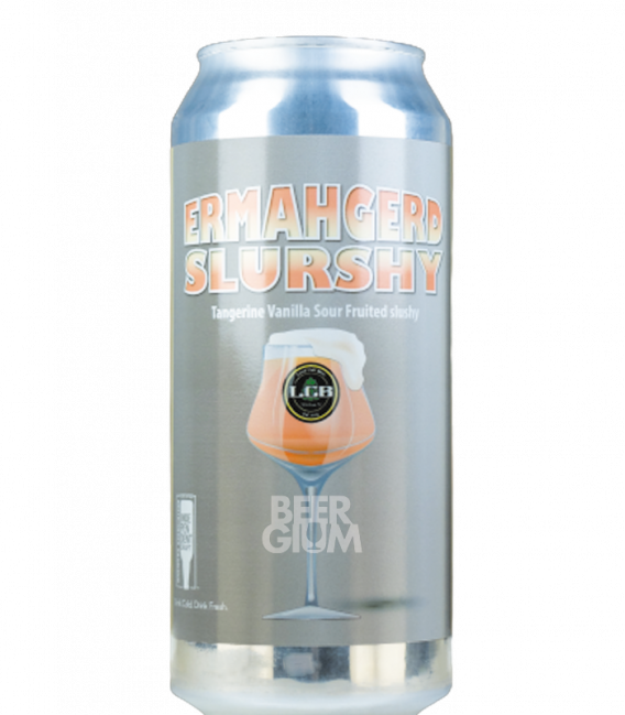 Local Craft Beer Ermahgerd Slurshy Tangerine Marshmallow CANS 47cl