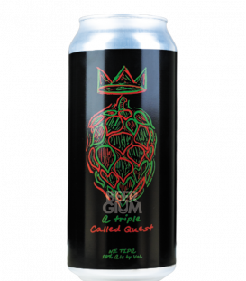 Local Craft Beer A Triple Called Quest CANS 47cl