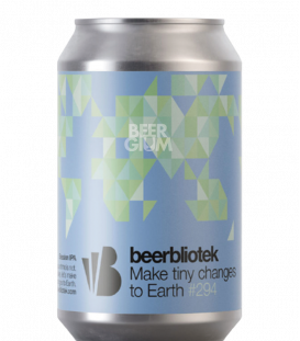 BeerBliotek Make Tiny Changes to Earth CANS 33cl