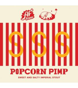 AF Brew / Wild Lab Popcorn Pimp CROWLER 50cl