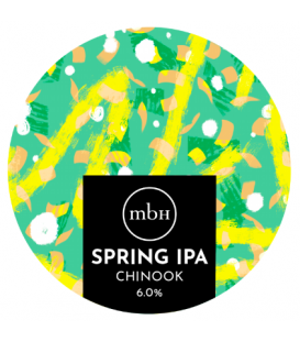Mobberley Spring IPA CROWLER 50cl