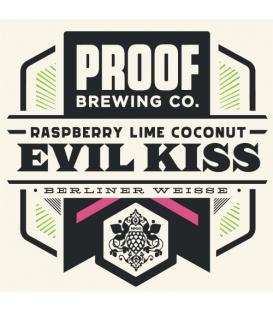 Proof Coconut Raspberry Lime Evil Kiss CROWLER 50cl