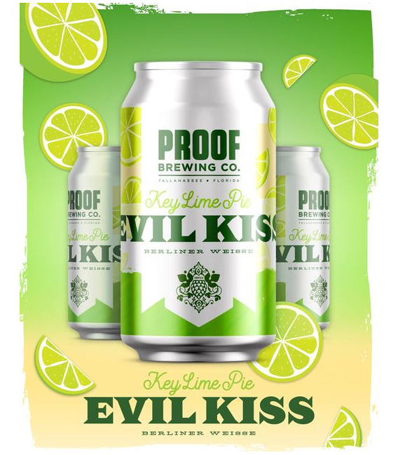 Proof Evil Kiss Key Lime Pie CROWLER 50cl