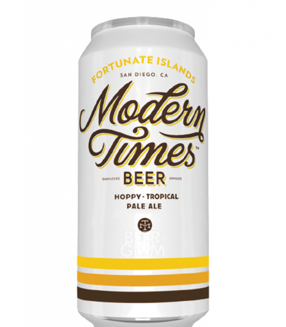Modern Times Fortunate Islands CANS 47cl