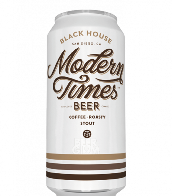 Modern Times Black House CANS 47cl