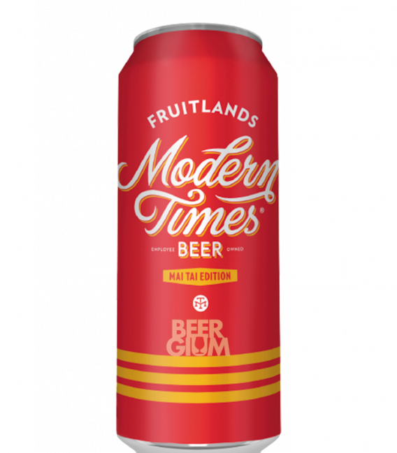 Modern Times Fruitlands Mai Tai CANS 54cl