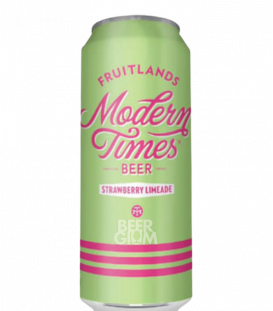 Modern Times Fruitlands Strawberry Limeade CANS 54cl