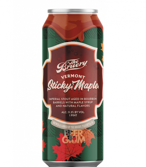 The Bruery Vermont Sticky Maple CANS 47cl