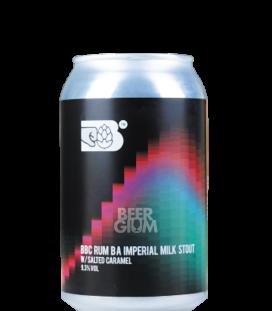 Bereta BBC Imperial Milk Stout Rum BA CANS 33cl