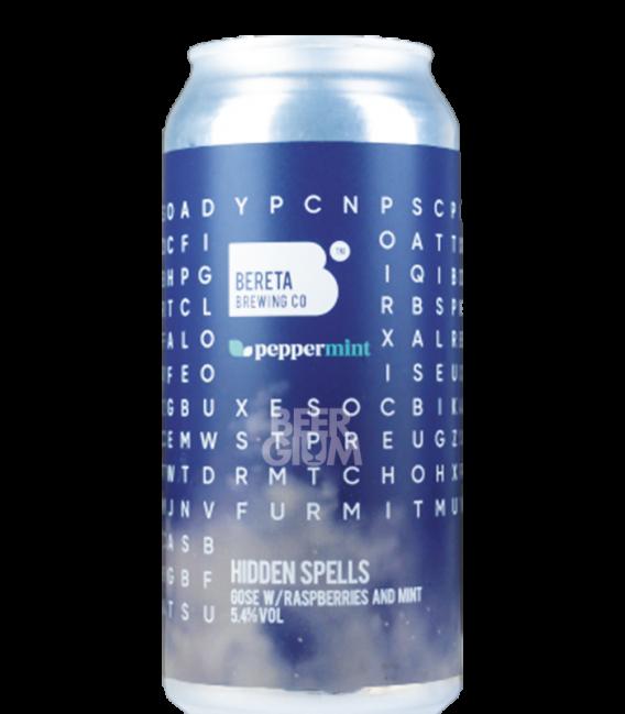Bereta Hidden Spells V2 Raspberries, Mint CANS 44cl
