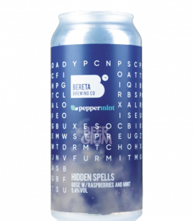 Bereta Hidden Spells V2 Raspberries, Mint CANS 44cl