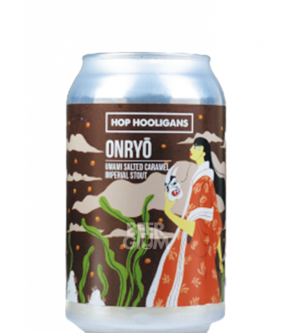 Hop Hooligans Onryo: Salted Caramel CANS 33cl