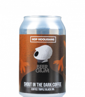 Hop Hooligans Shout In the Dark: Coffee CANS 33cl