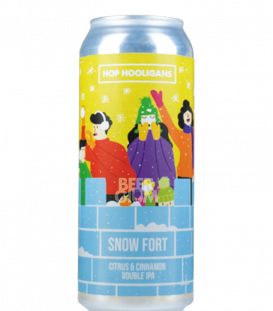 Hop Hooligans Snow Fort CANS 50cl