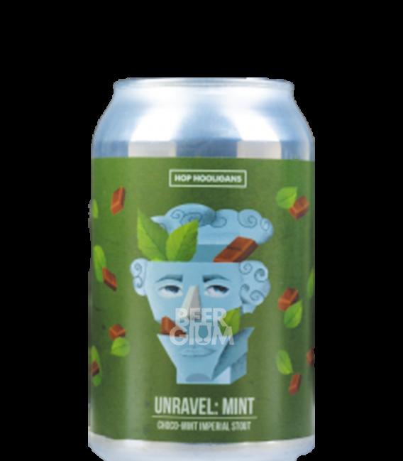 Hop Hooligans Unravel: Mint CANS 33cl