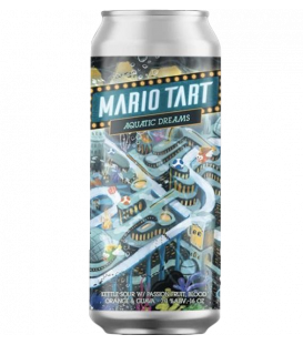 8 Bit Mario Tart Aquatic Dreams CANS 47cl