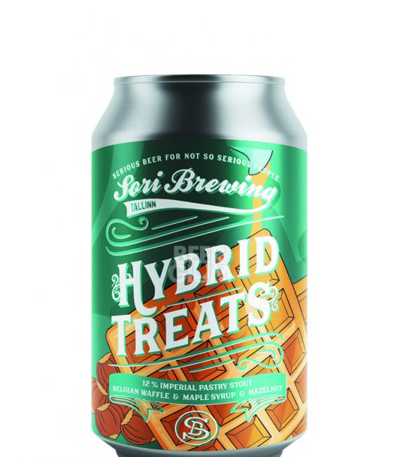 Sori Hybrid Treats Vol 2 Belgian Waffle & Maple Syrup & Hazelnut CANS 33cl
