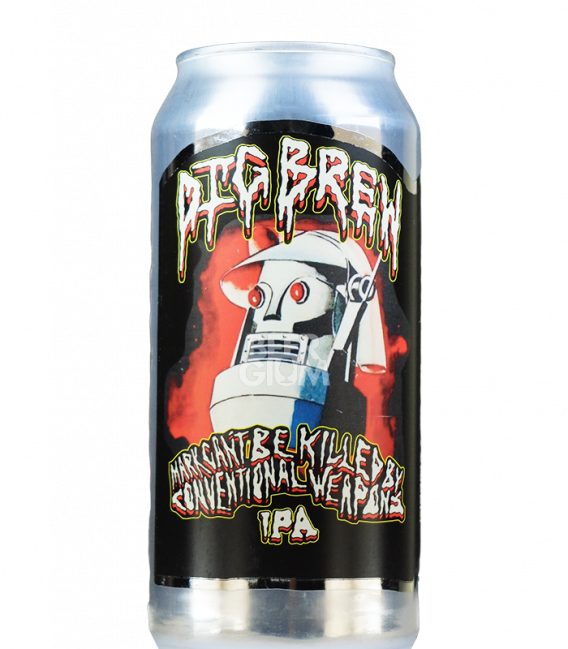 Dig Brew Mark Can't Be Killed By Conventional Weapons CANS 44cl