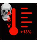 13% +